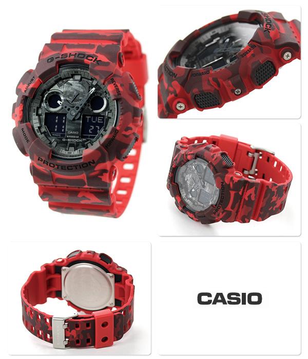 Casio G-SHOCK   GA-100CM-4ADR (一年保養)