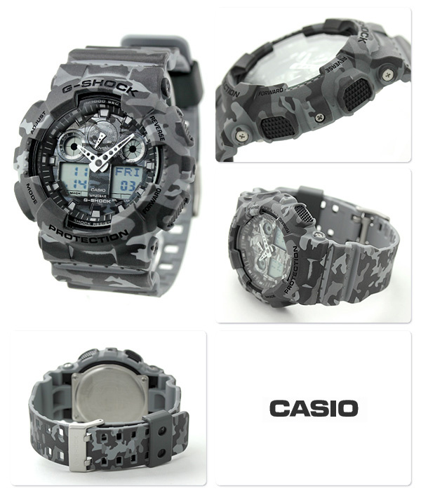 Casio G-SHOCK   GA-100CM-8ADR. (一年保養)