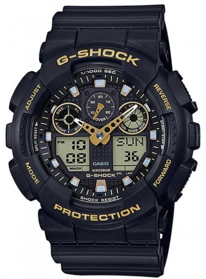 Casio G-SHOCK   GA-100GBX-1A9DR (一年保養)