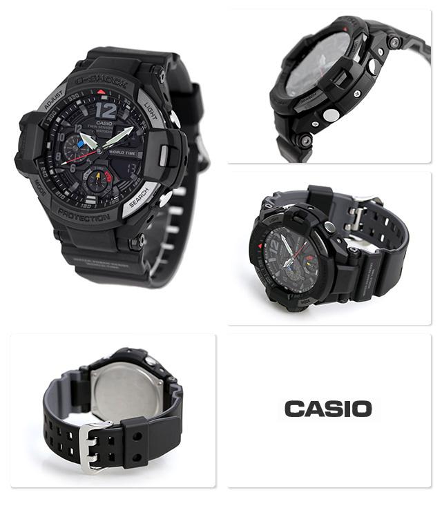 Casio G-SHOCK   GA-1100-1A1DR (一年保養)