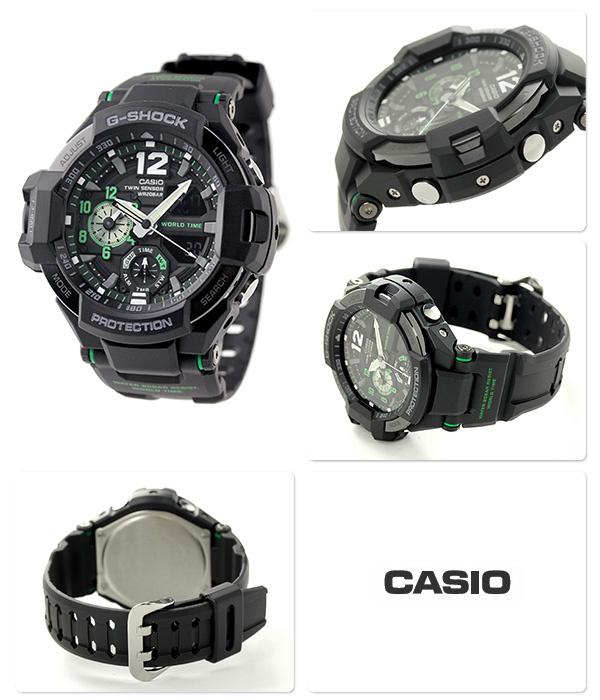 Casio G-SHOCK   GA-1100-1A3DR (一年保養)