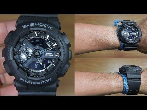 Casio G-SHOCK   GA-110-1BDR (一年保養)