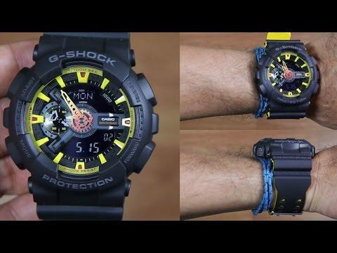 Casio G-SHOCK   GA-110BY-1ADR (一年保養)