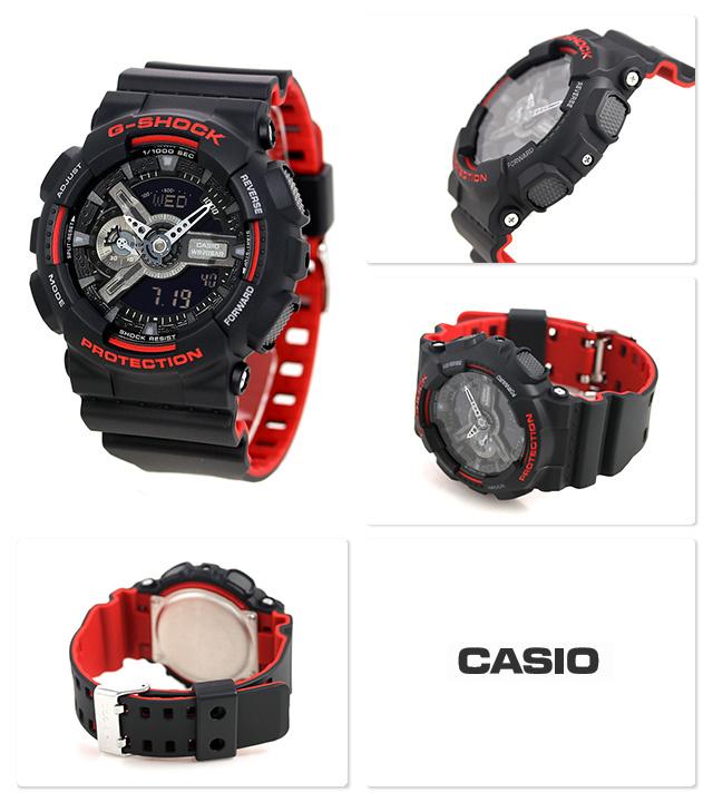 Casio G-SHOCK   GA-110HR-1ADR (一年保養)