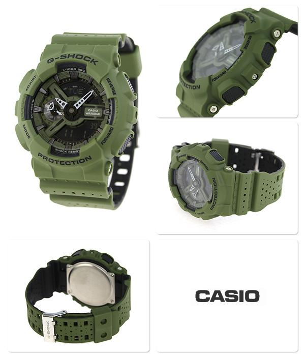 Casio G-SHOCK   GA-110LP-3ADR (一年保養)