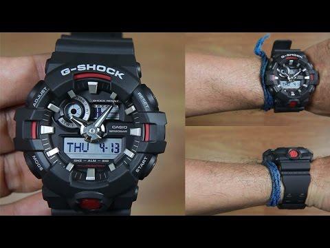 Casio G-SHOCK   GA-700-1A (一年保養)