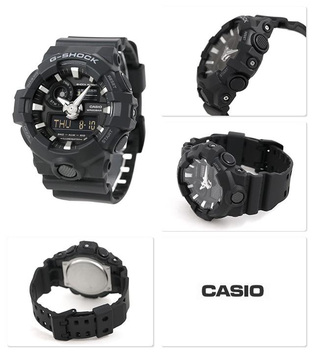 Casio G-SHOCK   GA-700-1BDR (一年保養)
