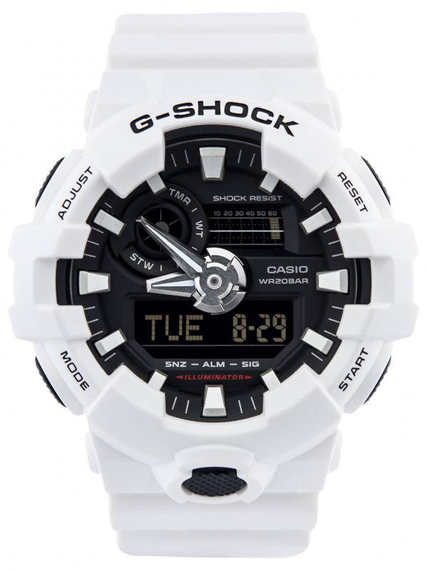 Casio G-SHOCK   GA-700-7ADR (一年保養)