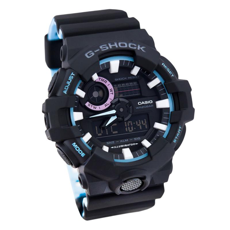 Casio G-SHOCK   GA-700PC-1ADR (一年保養)