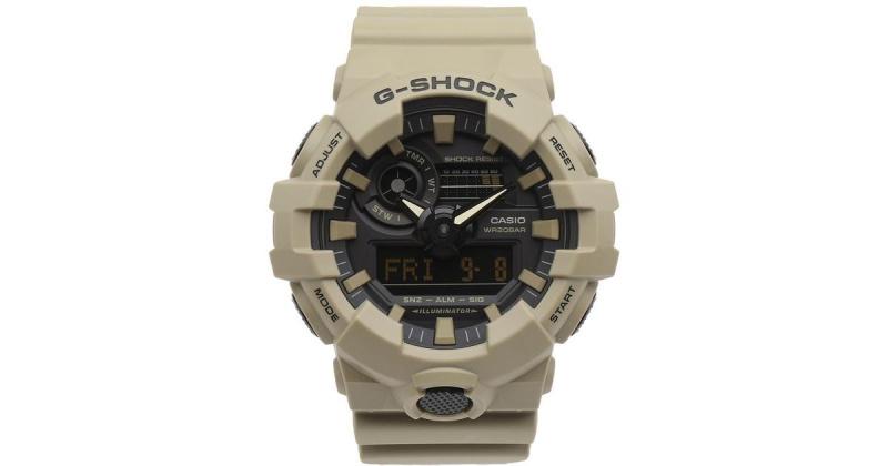 Casio G-SHOCK   GA-700UC-5A (一年保養)