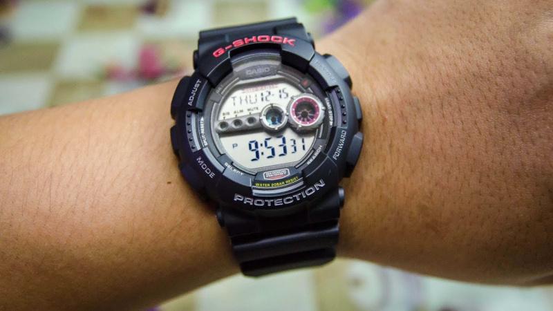 Casio G-SHOCK GD-100-1ADR. (一年保養)