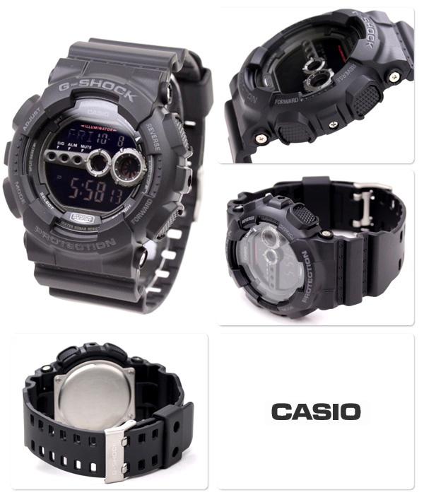 Casio G-SHOCK GD-100-1BDR. (一年保養)