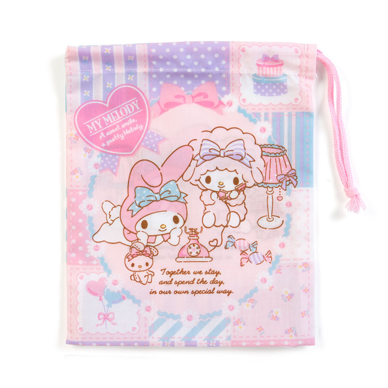 日本SANRIO Hello Kitty / Melody 索袋 [6款]