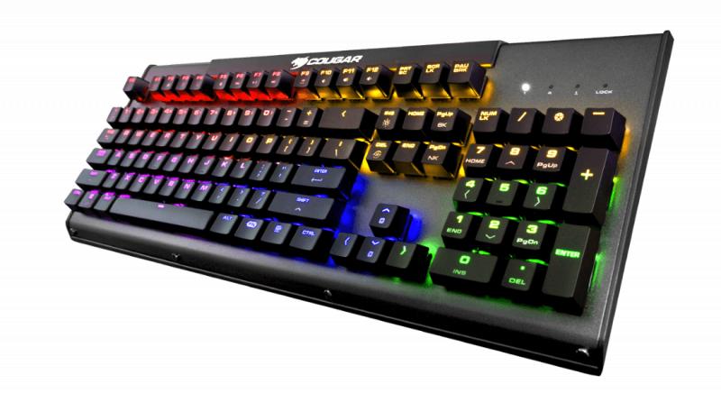 Cougar Ultimus RGB Mechanical Gaming Keyboard (青軸)