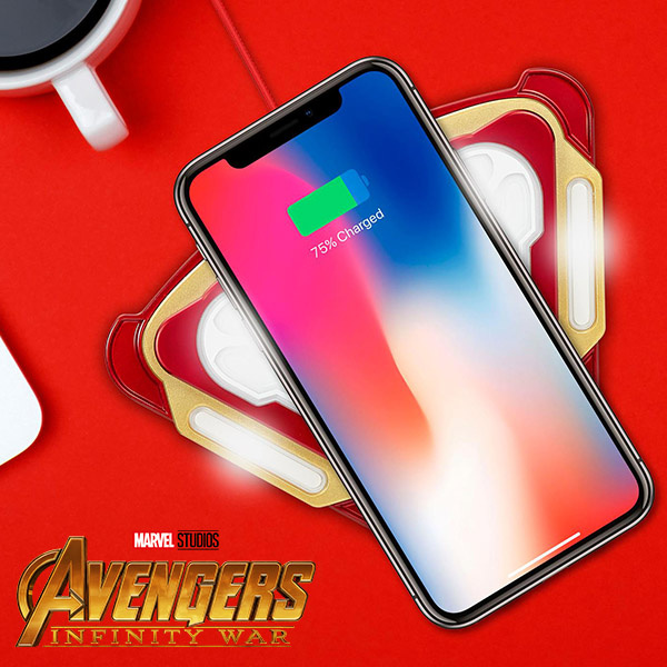 Infothink Marvel Wireless Charging Pad 鋼鐵人無線高速充電座