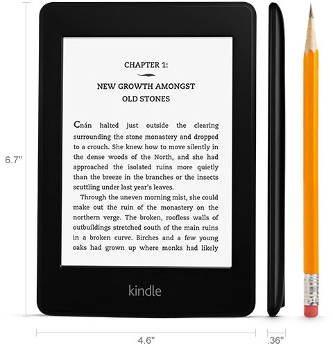 Amazon Kindle Paperwhite 第7代 4GB WiFi 電子書閱讀器 [2色]