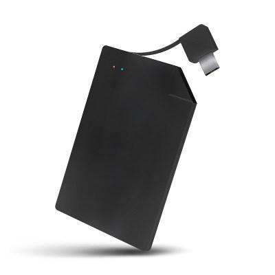 Letouch 4mm戶外應急金屬卡片移動電源1350mAh [2色]