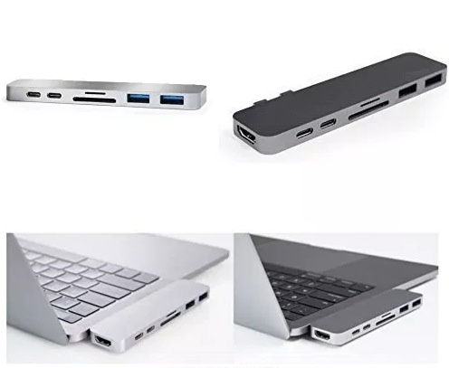 HyperDrive Thunderbolt 3 USB-C 2016 MacBook Pro Hub 外接式轉接器