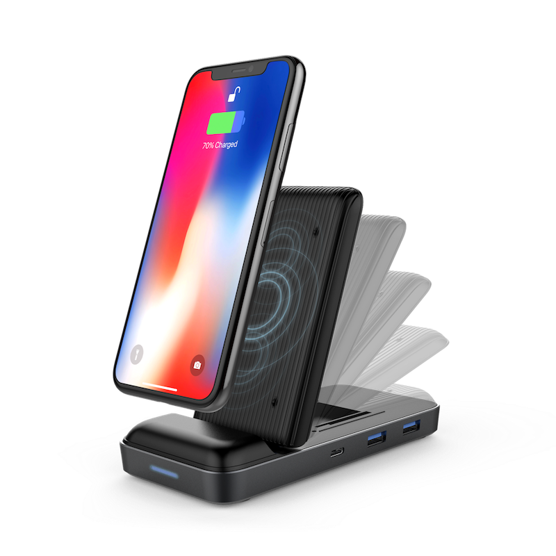 HyperDrive 7.5W Wireless Charger (HD258B) USB-C 分插連無線充電器