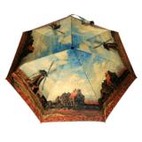 晴雨兩用雨傘連手杖 (莫內風車) Cane Umbrella- Monet – Tulip Fields with the Rijnsburg Windmill