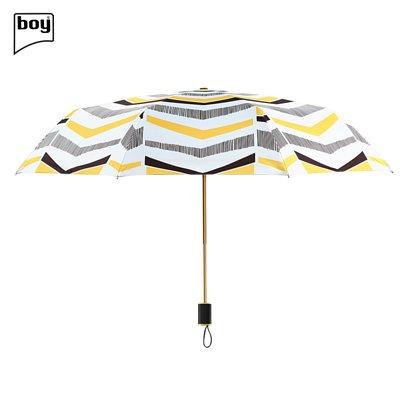 Boy BY3059 三折防紫外線摺疊雨傘- 迴旋