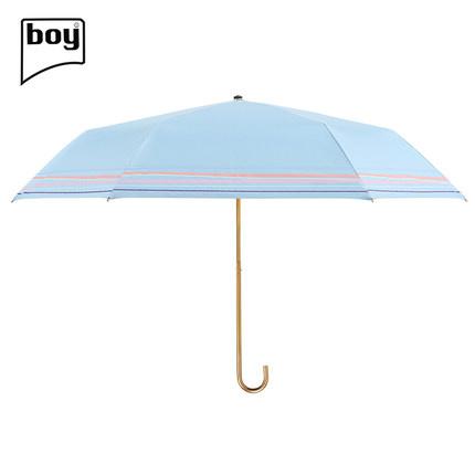 Boy 三折超輕小彎柄防曬公主傘 (BY3057) [2色]