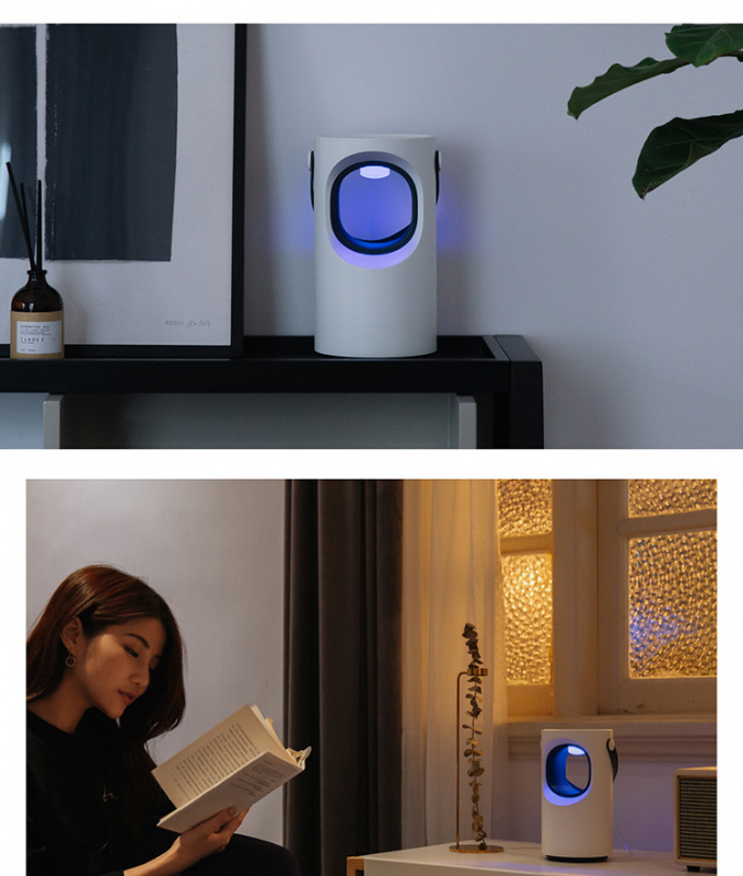 3life 紫漩-USB 吸蚊燈 ,室內/外無懼登隔熱,無毒無輻射靜音