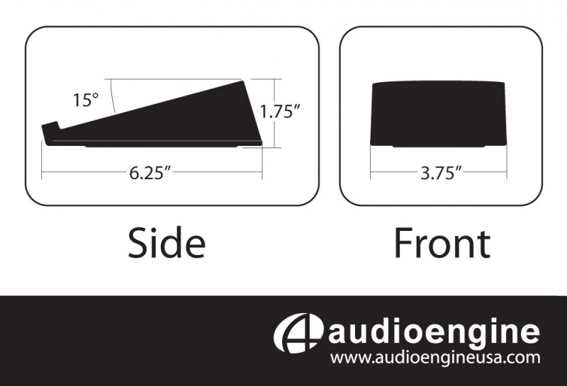 Audioengine DS1 Small Stands (for A2+/HD3)