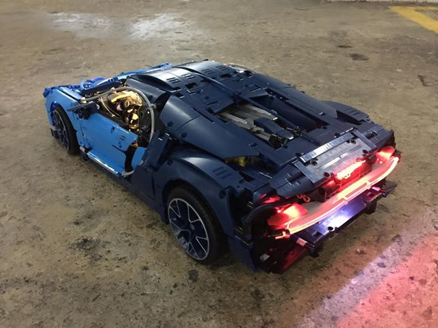 LEGO Brick Light LEGO IDEAS 42083 Bugatti Chiron Lighting kits 專用燈組 (不包括本體Lego)