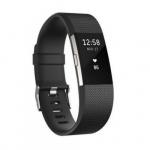 Fitbit Charge 2 HR 心率監測智能運動手環 [黑色大碼]