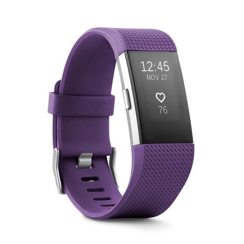 Fitbit Charge 2 HR 心率監測智能運動手環 細碼