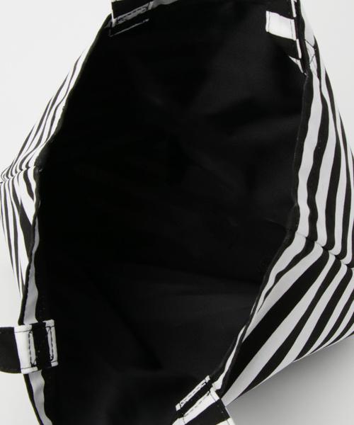 Agnes b. 黑白橫間購物袋