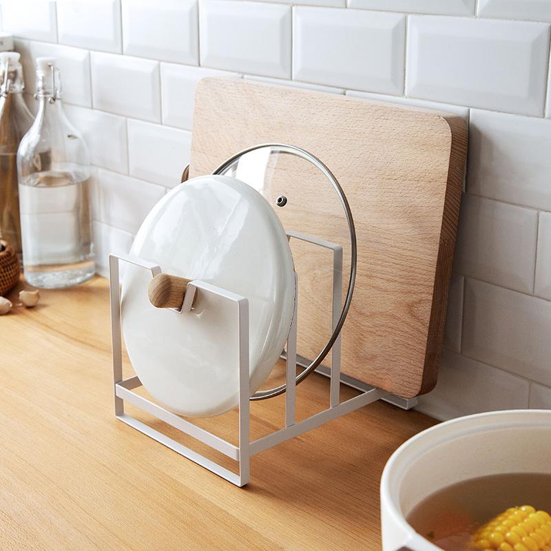 廚具鍋蓋砧板收納架