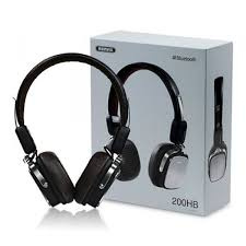 BLUETOOTH HEADPHONE STEREO HEADPHONES WITH MICROPHONE RB-200HB
