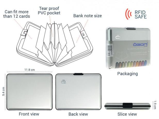 Ogon Stockholm RFID 安全防盜經典卡匣 [8色]
