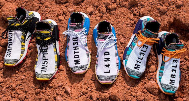 Pharrell Williams x Adidas NMD Hu Solar NMD [湖水綠色]