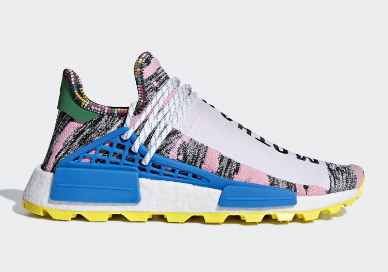 Pharrell Williams x Adidas NMD Hu Solar NMD [粉紅色]