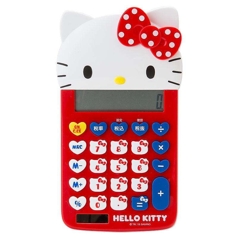 日本SANRIO Hello Kitty キティ形計數機