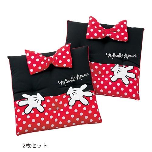 日本Disney 米妮可愛坐墊 [2個]