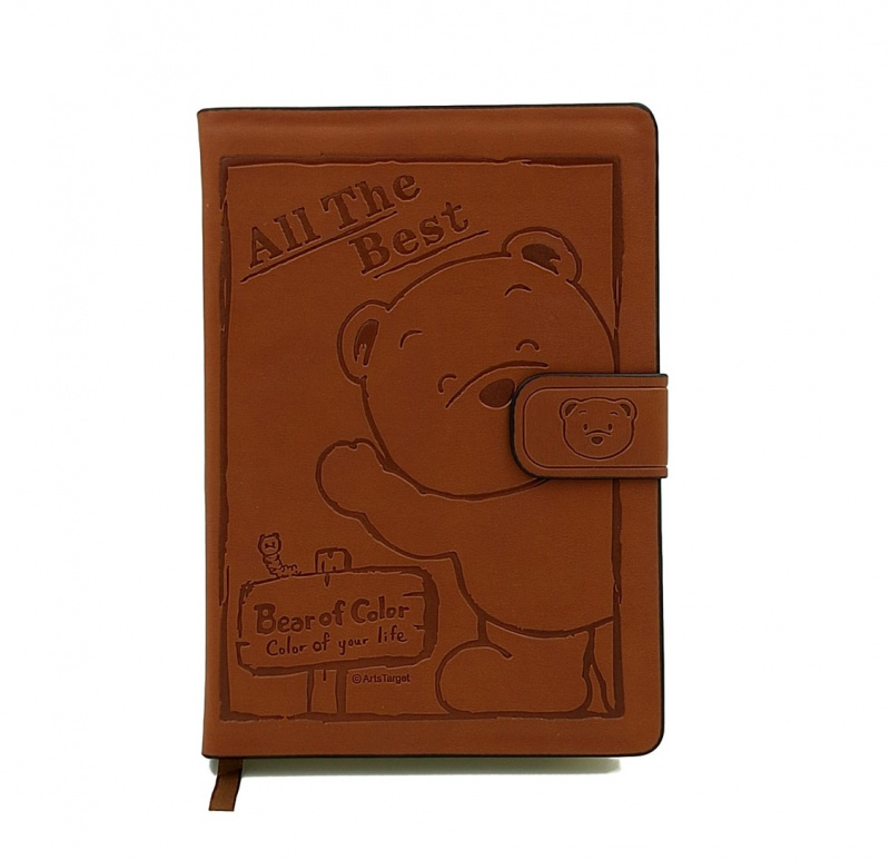BOC繽紛熊壓紋筆記本