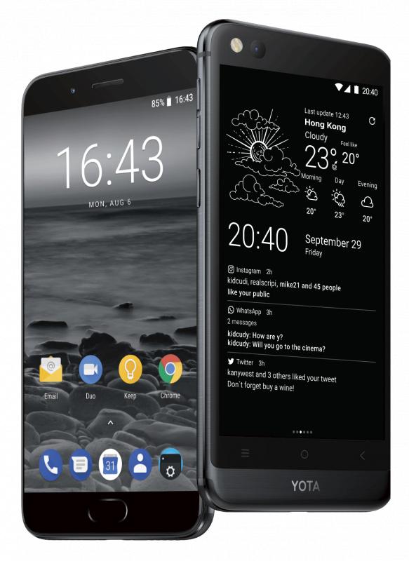 Yota Phone 3+ (國際版) 雙屏智能手機