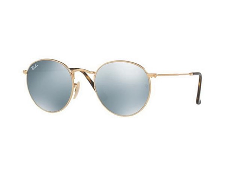 Ray-Ban RB3447N Round Flat Lenses-001/30