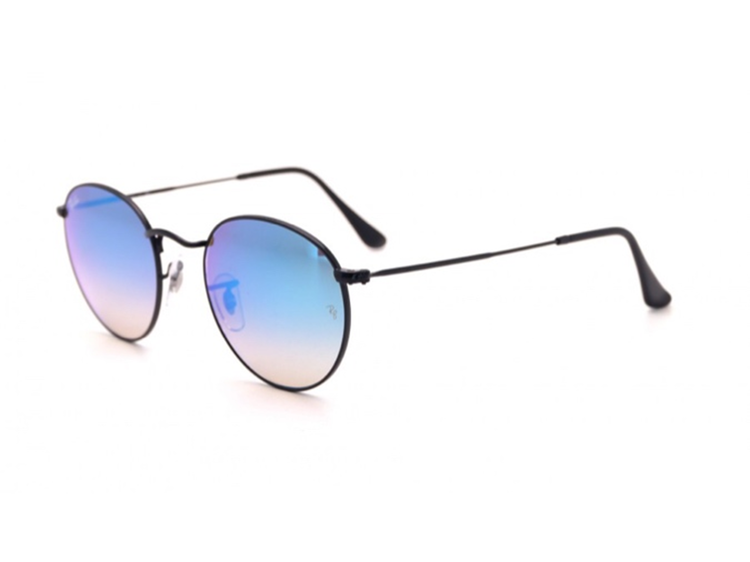 Ray-Ban RB3447 Round Flash Lenses Gradient-002/4O