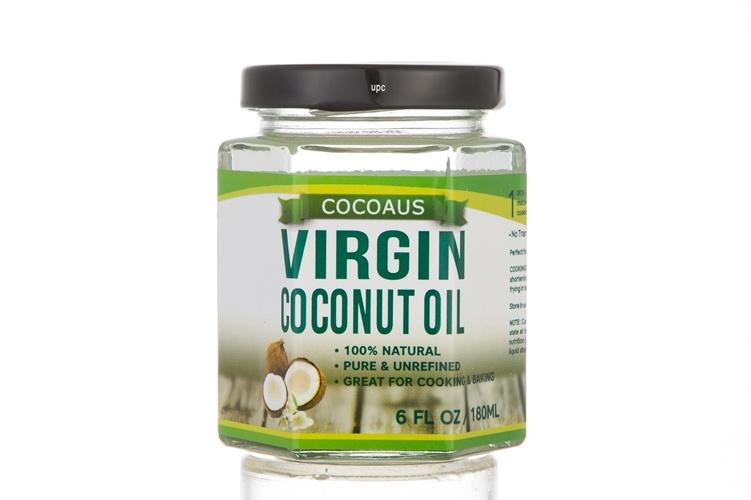 Cocoaus Virgin Coconut Oil天然冷壓初榨椰子油 (食用) 180ml [3枝套裝]