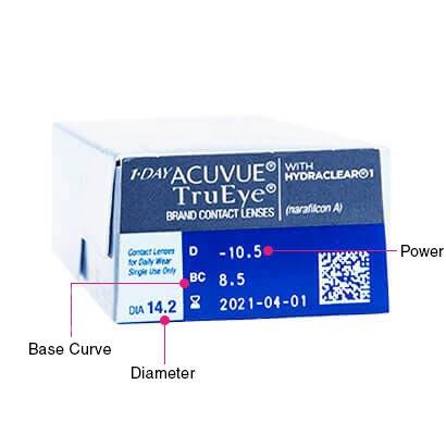 1 Day Acuvue TruEye 日拋隱形眼鏡 30片裝 (近視0.50度至12.00度)