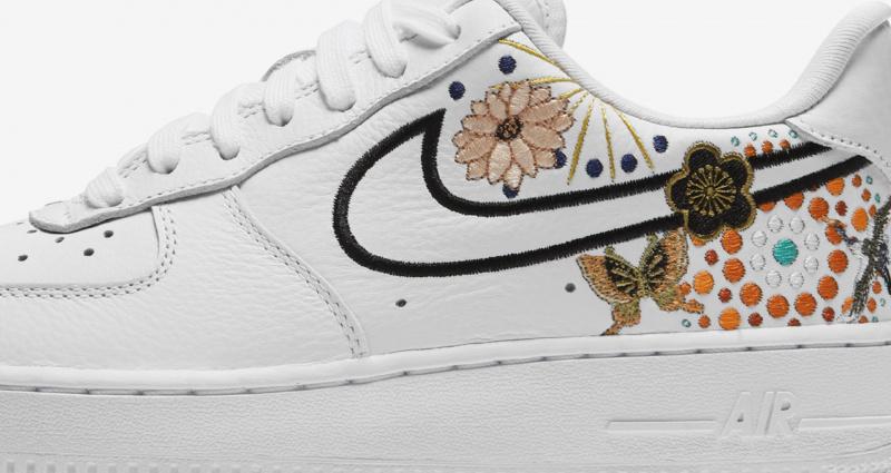 Nike Air Force 1 CNY W 女裝鞋 [白色]
