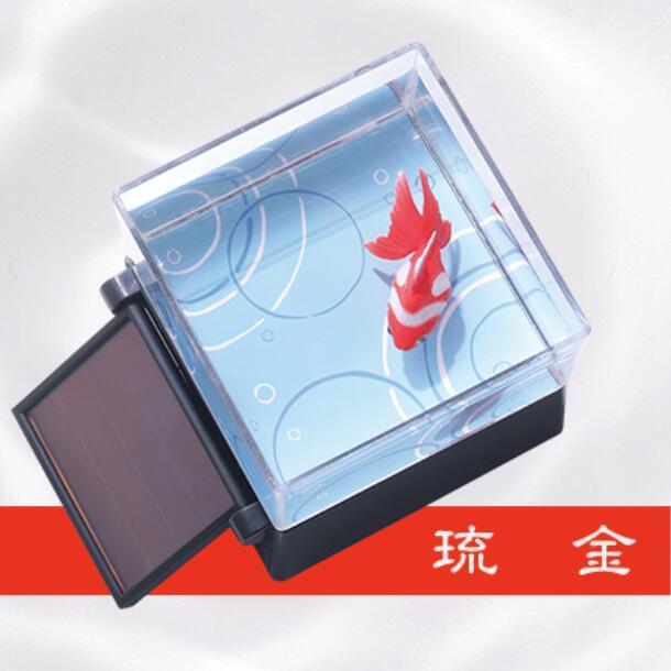TAKARA TOMY 太陽能電子金魚觀賞擺設
