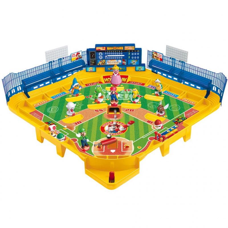 EPOCH 日本限定 卡通 3D 野球盤桌遊