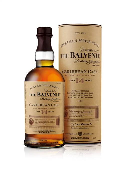 Balvenie 14年加勒比海蘭姆桶威士忌 700ml