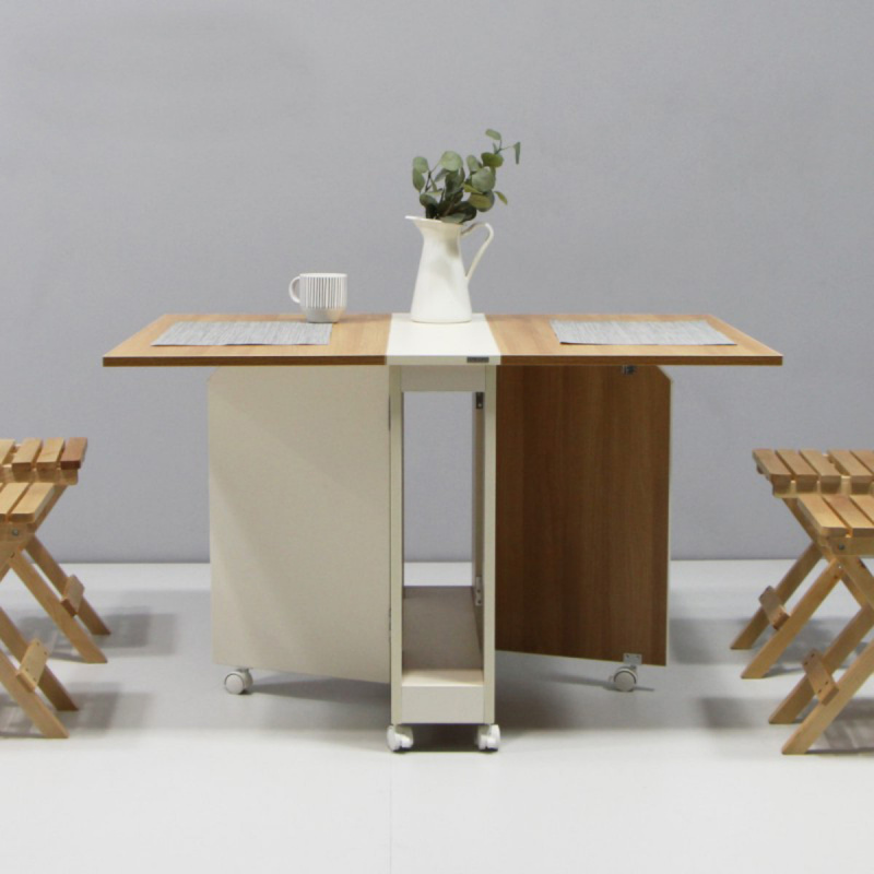 MerryRabbit WT043-7 摺疊桌椅套裝